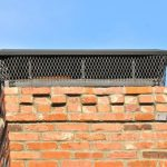 Close Up of Brick Chimney | roof repair Pittsburgh