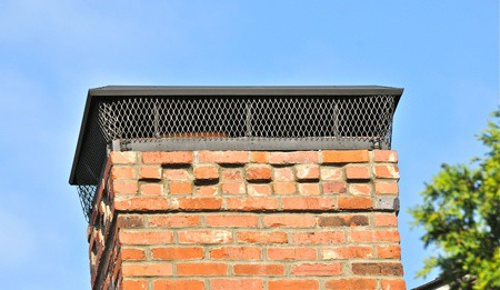 Close-up of Brick Chimney | RoofingContractorPittsburgh.com