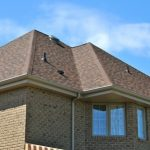 Roof Eaves on a Brick House | roof repair Pittsburgh