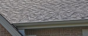 Close-up of Roof on Brick House