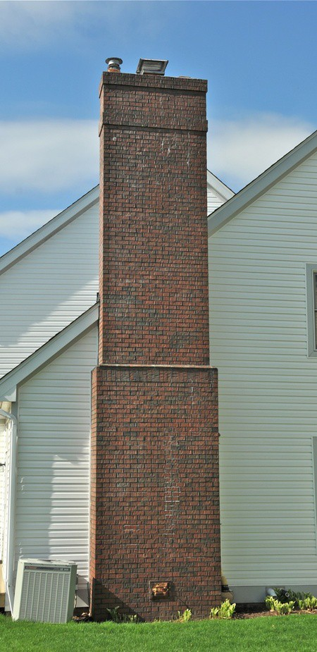 Large Brick Chimney | RoofingContractorPittsburgh.com