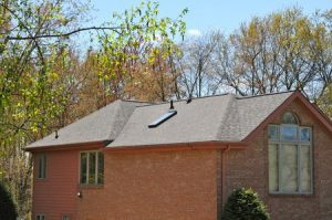 House with Sky Light and Large Window | shingle installation in Pittsburgh