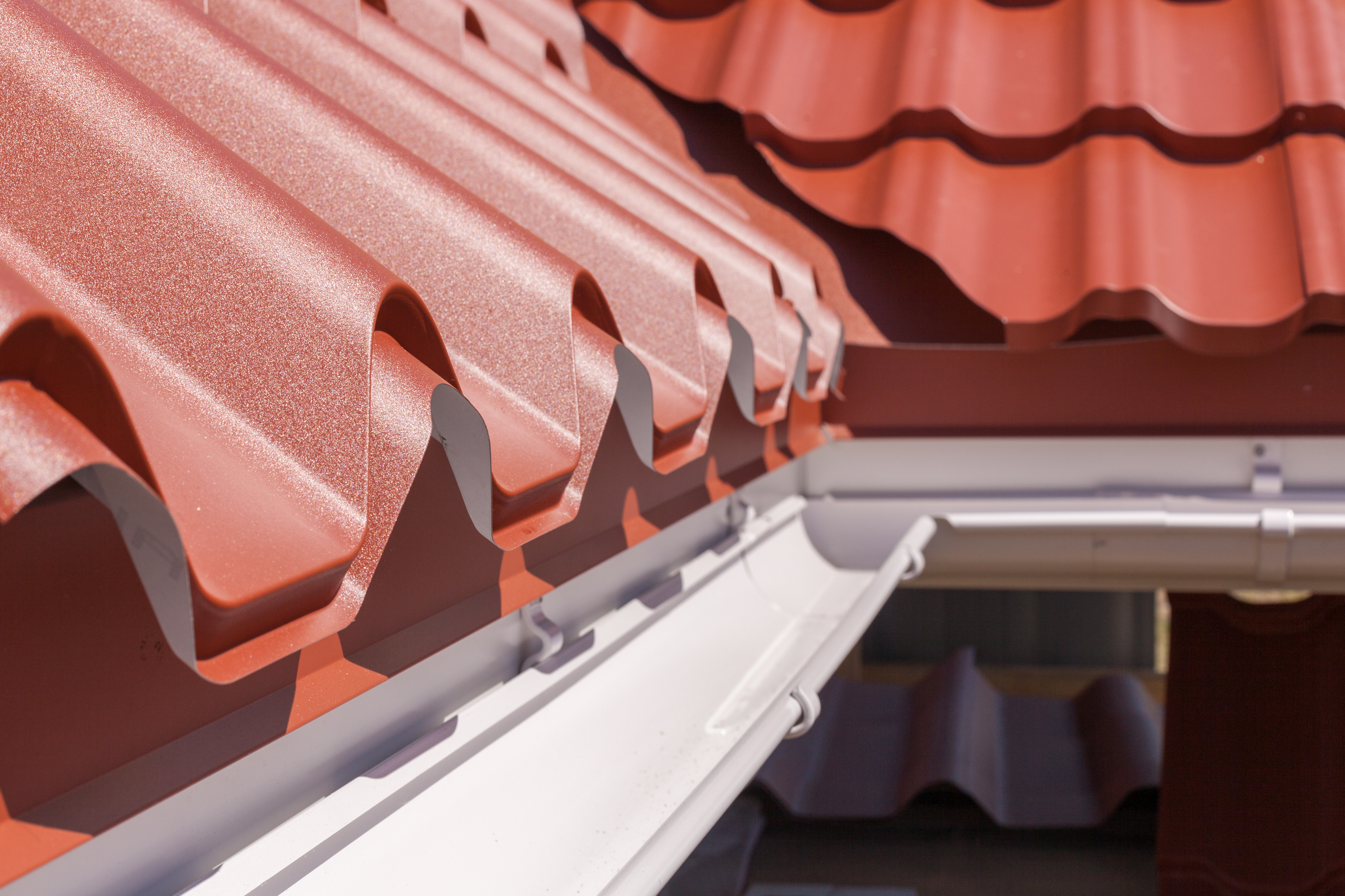 Roof Tiles and Gutter | RoofingContractorPittsburgh.com