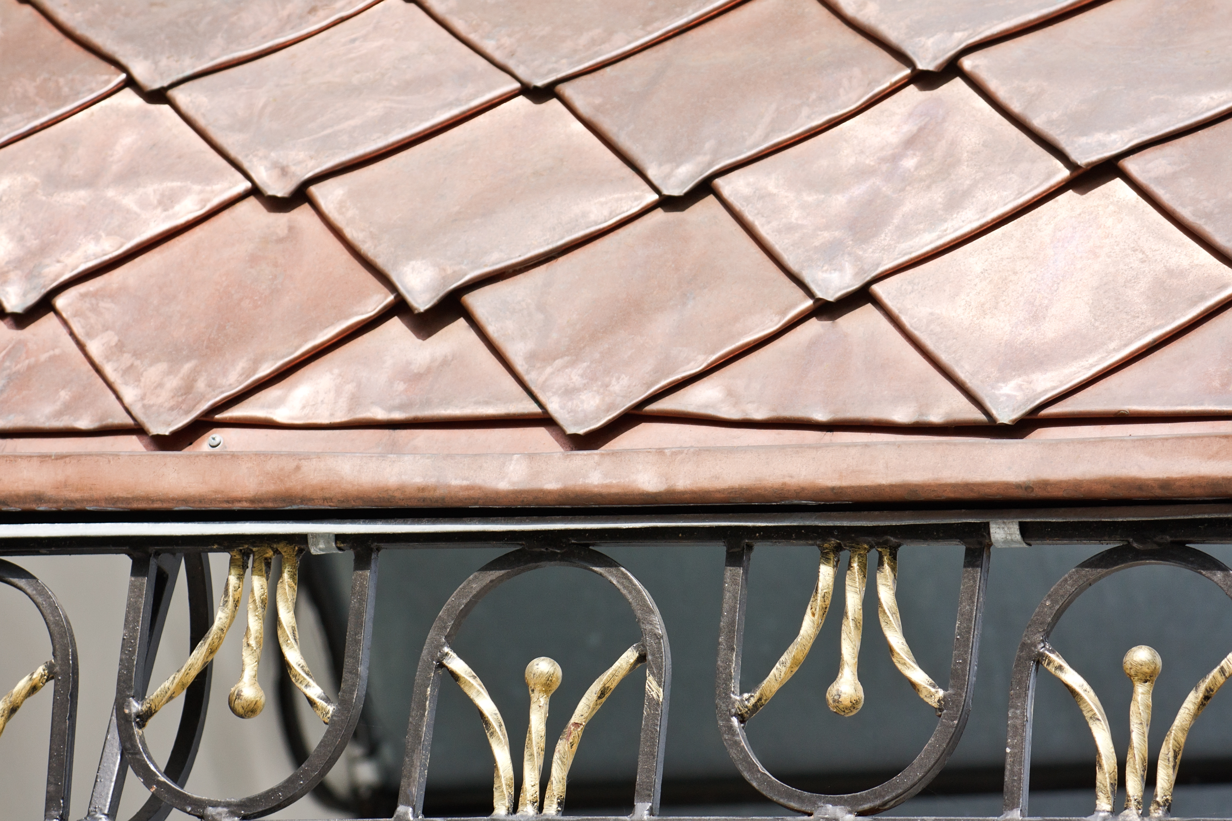 Roof Covered With Copper Plates | RoofingContractorPittsburgh.com