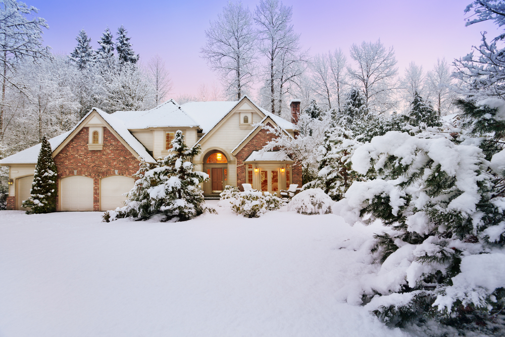 Snowy Home | RoofingContractorPittsburgh.com