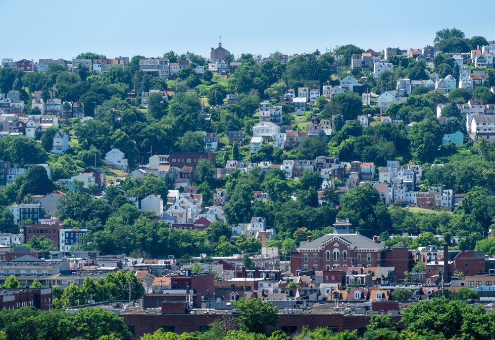 Heat,Haze,Provides,An,Abstract,Look,To,The,Homes,On | RoofingContractorPittsburgh.com